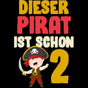 Kindergeburtstag Pirat Räuber Piraten 2