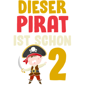 Piraten Zweiter Geburtstag Seeräuber 2