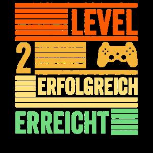 Zweiter Geburtstag Level 2 Zwei