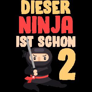 Ninja Zweiter Geburtstag 2
