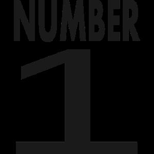 Eins Nummer 1 Zahl 1