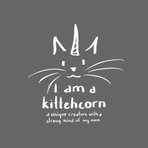 I am a kittehcorn - white