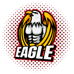 Paintball Eagle Red
