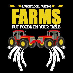 Farms tractor