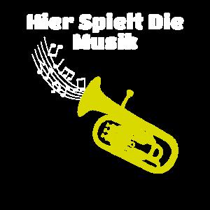 Lustiger Tenor-Horn Orchester Blaskapelle Spruch