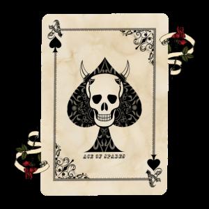 Todeskarte / Pik-Ass