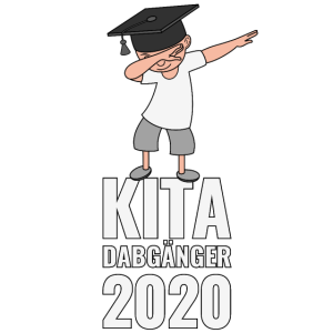 KITA DABGÄNGER 2020 Abgänger DAB Dabbing Schulkind