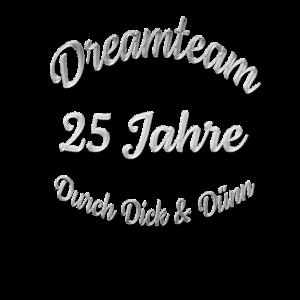 Silberhochzeit 25 Jahre Dreamteam