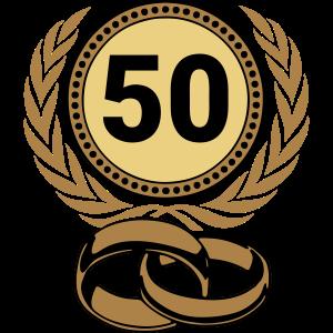 Goldene Hochzeit , 50 Jahre