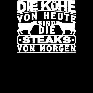 Kühe Steaks Kuh Rind Metzger Schlachter Bauer