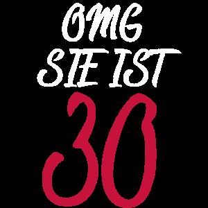 OMG 30. Geburtstag 30er Geschenk