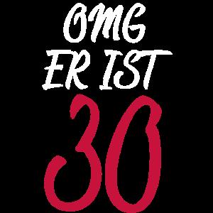 OMG 30, Geburtstag 30er Geschenk