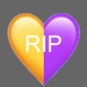 RIP Kobe Yellow / Purple Heart