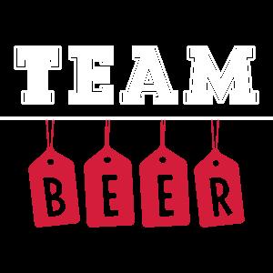 Team Beer Bier DNS DNA Puls Spruch Schrift Saufen