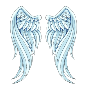 Angelwings lustige Geschenkidee Engelsflügel