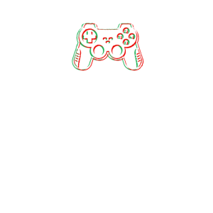 Gaming Controller glitch style