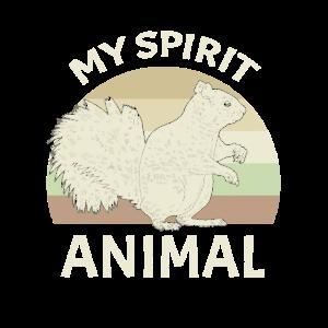 Eichhörnchen Spirit Animal