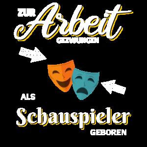 T-Shirt Theater Schauspielen Schauspieler Geschenk