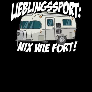Camper Camping Wohnmobil Wohnwagen Rentner Spruch