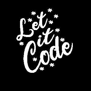 Let it code winter Geschenkidee