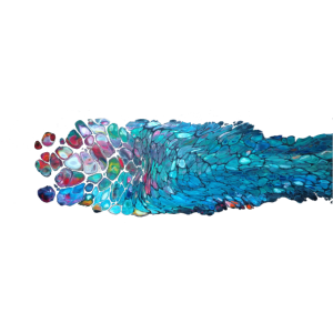Fisch, Kunst, abstrakt, acrylic, pouring, modern