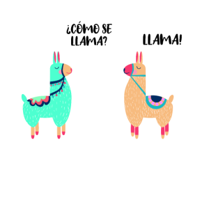 Como Se Llama Alpaka Spruch Geschenk Lama Kostüm