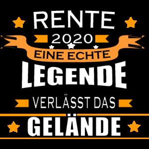 Rente 2020 eine echte Legende verlässt das Gelände