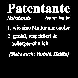 Patentante Patenkind Lieblingstante Geschenk & Pat