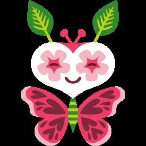Kawaii butterly
