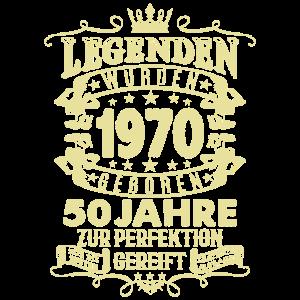 50. Geburtstag 1970 Geschenk Geschenkidee Retro