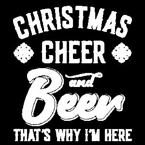 Weihnachtsbeifall und Bier Deshalb bin ich hier