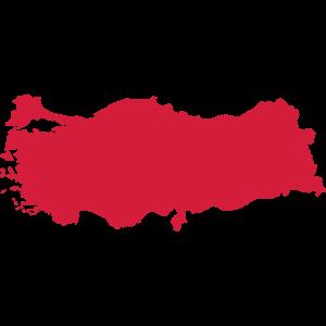 TURKEY CARD RED