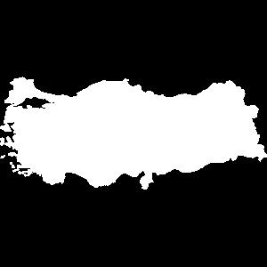 TURKEY CARD WHITE