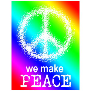 We make Peace
