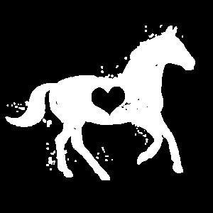Reiterin Reiter Reitsport Herz