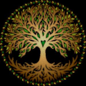 Baum des Lebens Yggdrasil Weltenbaum, tree of life