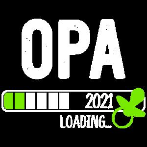 Opa Loading 2021 Werdender Opa Verkündung