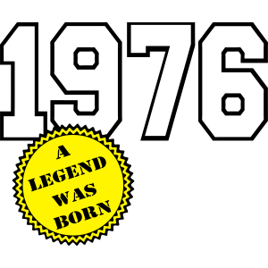 1976 a legend was born ...+