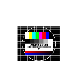 Sendepause Testbild Sendeschluss DDR Fernseher