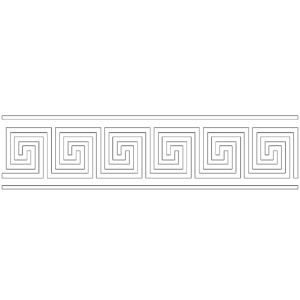 greek bordure white