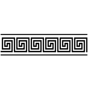 greek bordure black