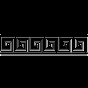 greek bordure black