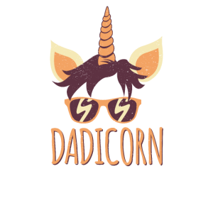 Dadicorn Unicorn Papa Dad Father Day Family Bday