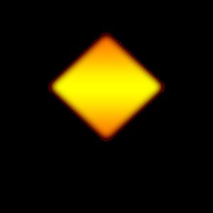 Raute gelb