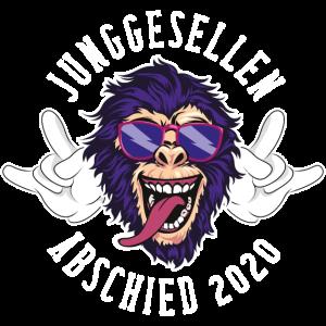 Affe junggesellenabschied 2020