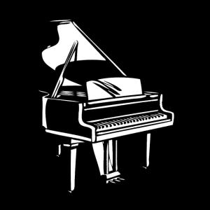Piano Instrument Retro