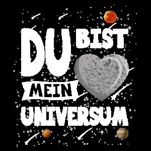 MEIN UNIVERSUM Weltraum Valentinstag Geschenk