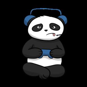 Gaming Panda Gamer Kinder