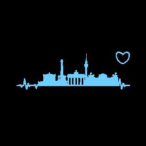 Berlin Herzschlag EKG Spree Hauptstadt