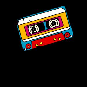 Mixtape Musik Tape Kassette 80er 90er Retro Grunge